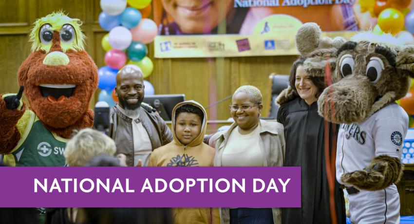 national adoption day, king county courthouse